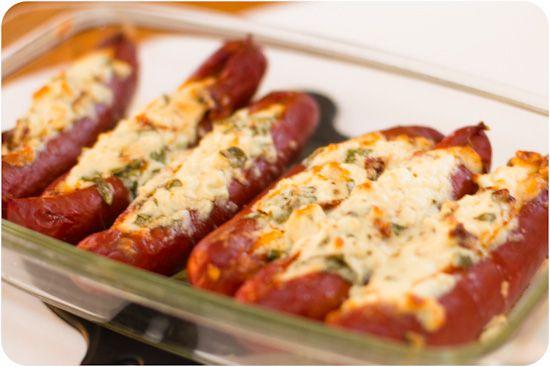 Fetaostgratinerad chorizo med tomatvitkål - 56kilo - livsstil, matglädje och feelgood.