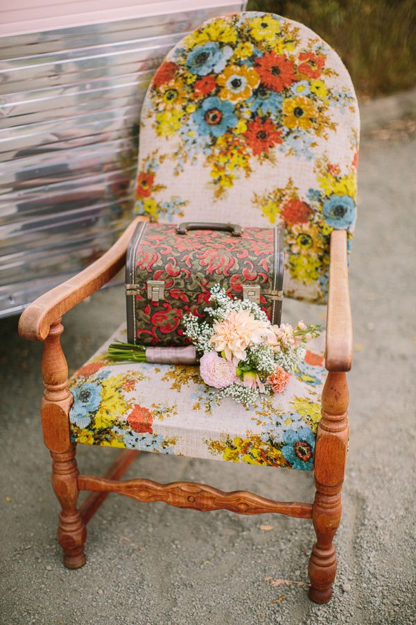 floral chair // photo by Danielle Capito // styling by Danae Grace Events
