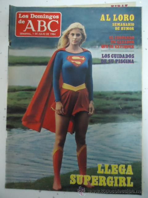 LOS DOMINGOS DEL ABC 1 JULIO 1984  LLEGA SUPERGIRL