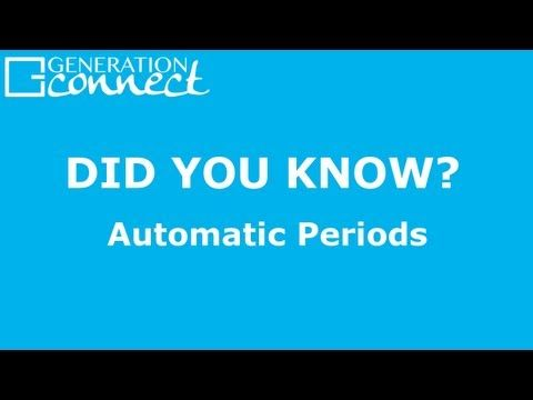 Automatic Periods - Did You Know?  Skip the periods when typing on your iPad or iPhone! Don't forget to sign up for our Mailing List at www.gen-connect.com to make sure you are always in the loop!