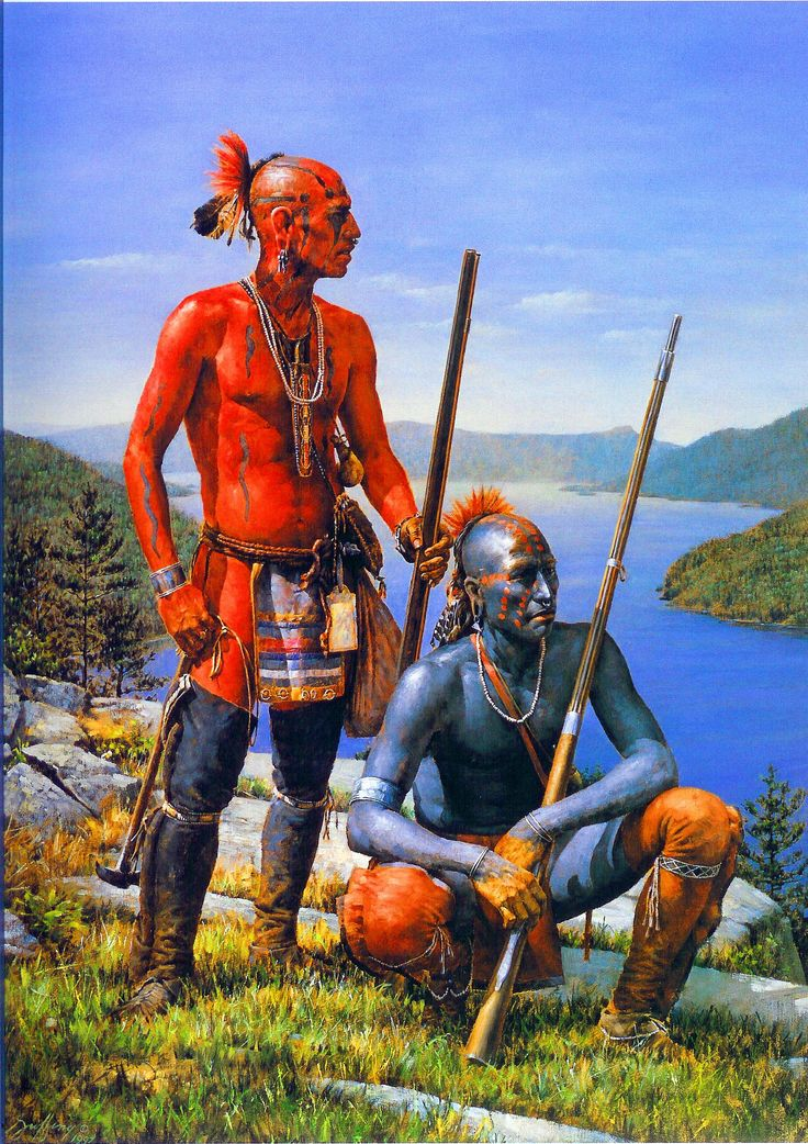 Iroquois Indians during the French and Indian War