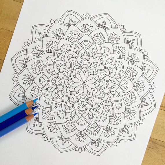 49 best MauindiArts Adult Colouring Pages images on Pinterest