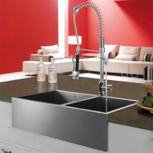 stainless steel sinks and modern kitchen faucets u2013 quick kitchen updates on a budget