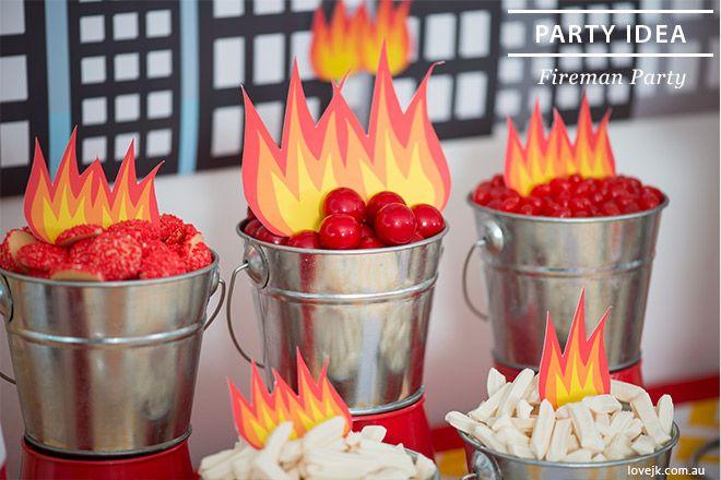 Fireman Party inspiration by Love JK