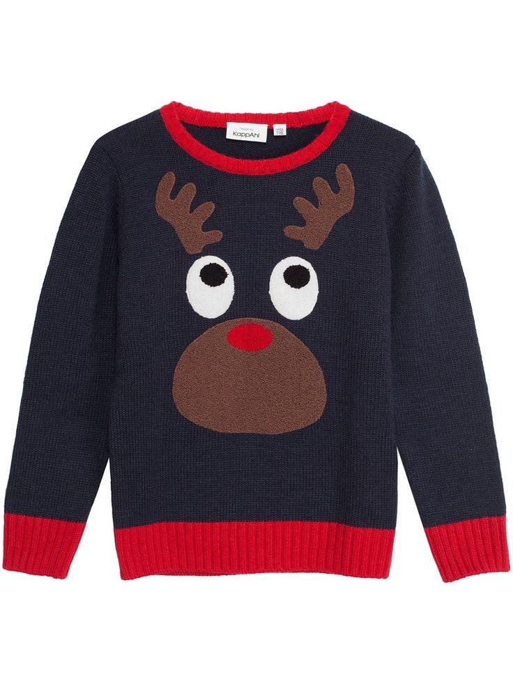 Jultröja till barn - Mörkblå & Röd - Shoppa hos KappAhl