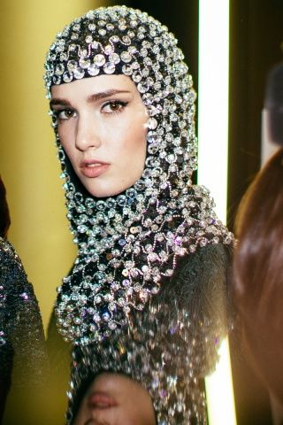 Dolce & Gabbana Fall 2014 RTW - Backstage - Fashion Week - Runway, Fashion Shows and Collections - Vogue