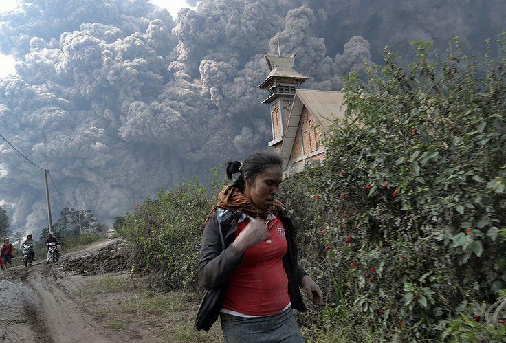 Indonesian Volcanic Eruption High Quality Shot 14