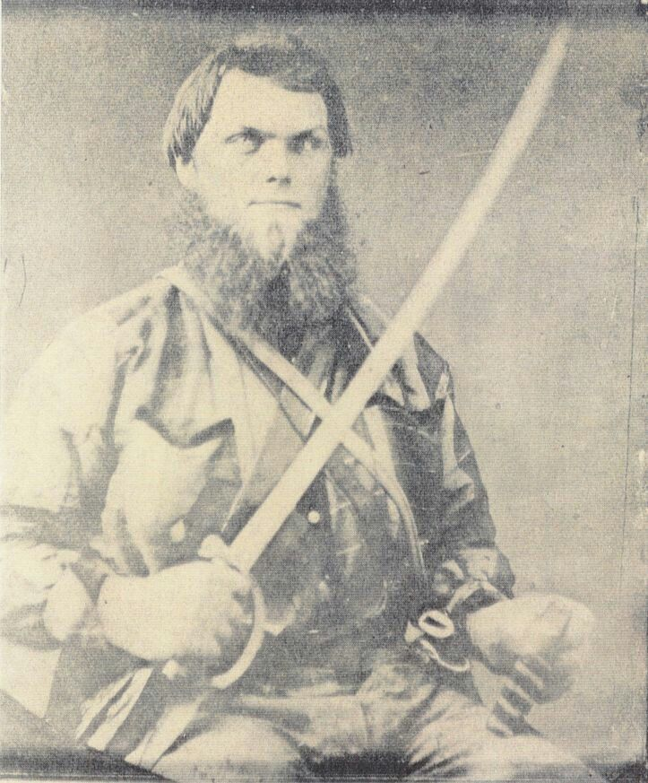 SGT. JOHN FORSYTHE VARDAMAN, C.S.A . Sergeant, Co. G, 10th Alabama Cavalry, later the 2nd Engineer Regiment, Army of Northern Virginia. John F. Vardaman served variously as scribe, secretary, bookkeeper and recruiting officer and was a courier during Gen. Braxton Bragg's invasion of Kentucky. In the fall of 1862 he took part in the siege of Cumberland Gap while serving with General Bragg's Army of East Tennessee. He spent the winter of 1862-63 in Kentucky and east Tennessee where he became…