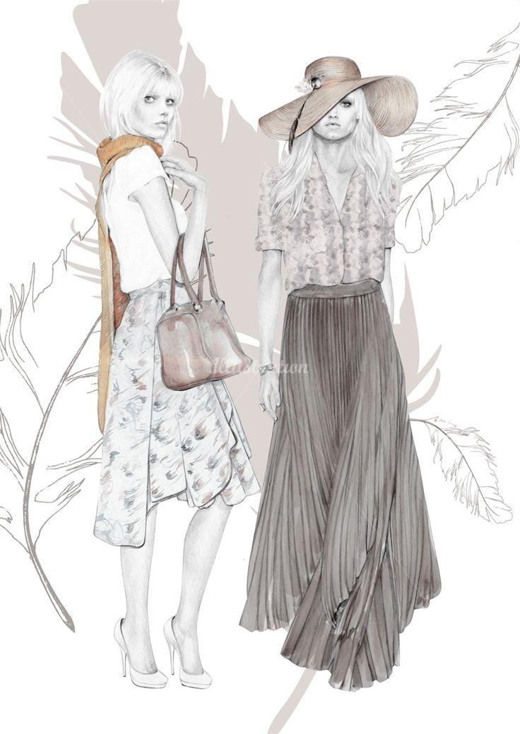 Kelly Smith Fashion Illustration