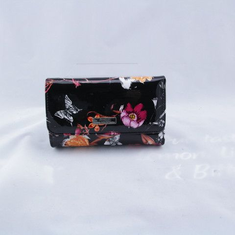 "Ladies' Wallet, Serenade Leather, ""Secret Garden"""