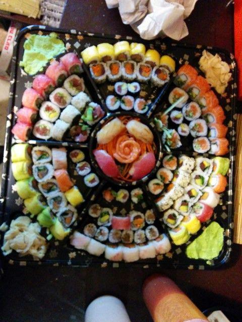 sushi platter beautiful   Recherche Google
