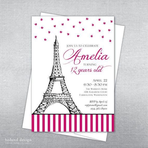 Best 25 paris invitations ideas on pinterest paris theme paris quinceanera theme and paris party - Salon des seniors paris invitation ...