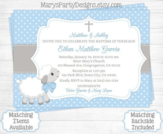15 best Baptism images on Pinterest Blue cross, Cross stitches and - best of invitation card message for baptism