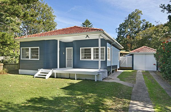 Front Elevation Of Houses In Australia : Timber and fibro renovated cottage australian
