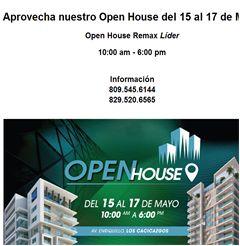 Aprovecha nuestro Open House del 15 al 17 de Mayo - Publicidad