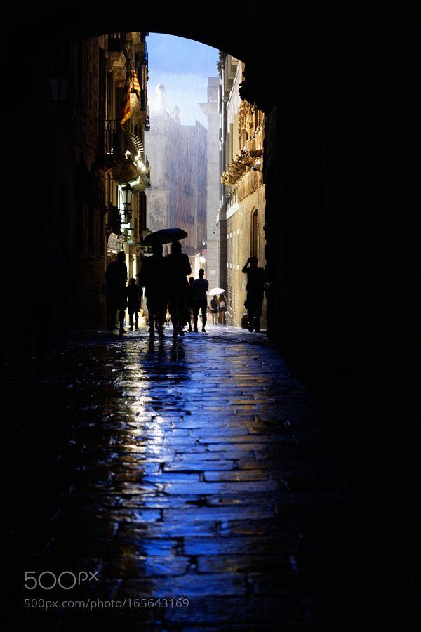 Pluja / Lluvia. Barcelona 2016
