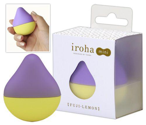 Tenga Iroha mini - gul-lilla fra Tenga - Sexlegetøj leveret for blot 29 kr. - 4ushop.dk - Minimalistisk vibrator fra Tenga. I et enkelt og elegant design får du denne klitoris stimulator/vibrator sten.