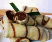 Resep dadar gulung isi coklat : Aneka Resep Camilan Sehat untuk Seluruh keluarga