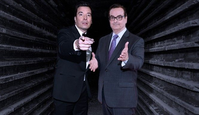 Jimmy Fallon Celebrates Steve Higgins' Birthday With Drinks And Surprise High School Memories