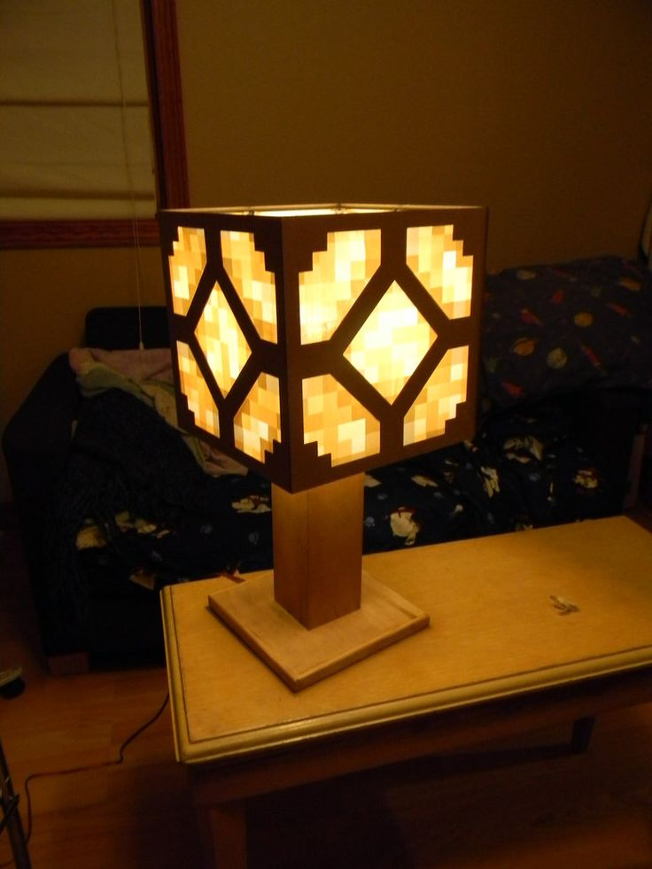 Redstone Lamp   Minecraft By Veykava