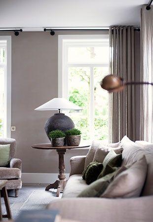 klassieke ramen woonkamer