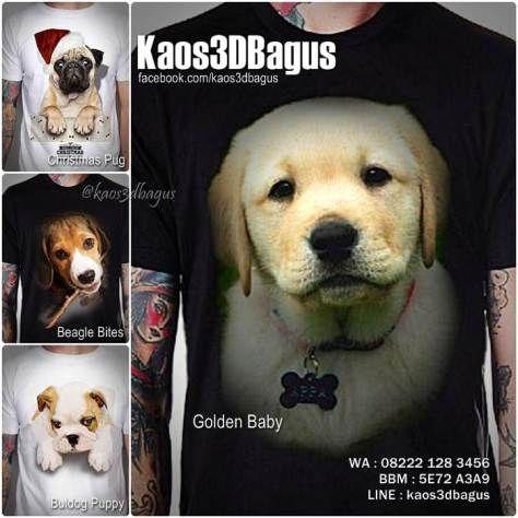 Kaos DOGGIE, Kaos DOG LOVER, Kaos Gambar Anjing, Kaos3D, Anjing Lucu, Pet Lover, https://www.facebook.com/kaos3dbagus, WA : 08222 128 3456, LINE : Kaos3DBagus