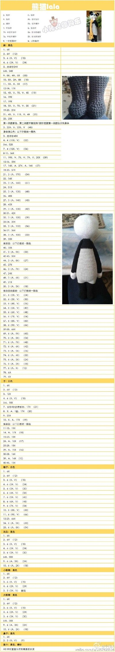 Mejores 419 imágenes de Amigurumi en Pinterest | Juguetes de ...