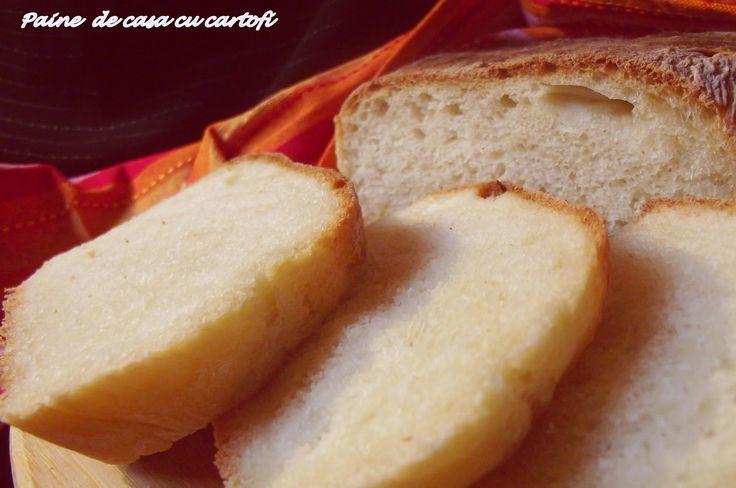 Pâine de casă cu cartofi ~ Bucate, vorbe şi arome