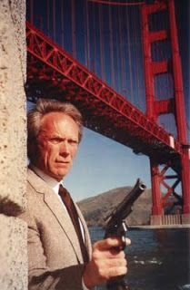 "Clint Eastwood in ""The Dead Pool"" the fifth (and final) installment in the ""Dirty Harry"" series (1988)."