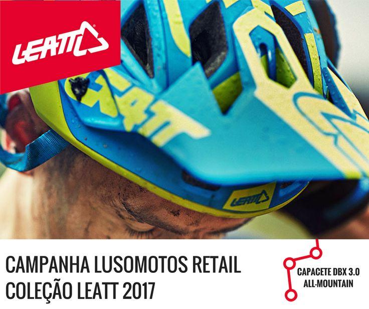 LUSOMOTOS RETAIL | Coleção LEATT 2017 - Capacetes para Bicicleta - DBX 3.0 ALL-MOUNTAIN. Boas escolhas! Boas compras! #lusomotos #lusomotosretail #agosto #leatt #capacetes #allmountain #bicicleta #DBX #retail #campanha #promoções #limitadoaostockexistente #estilodevida #verão #offroad #andardebicicleta