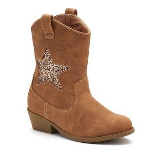 Jumping Beans® Chrissa Toddler Girls' Cowboy Boots size 11