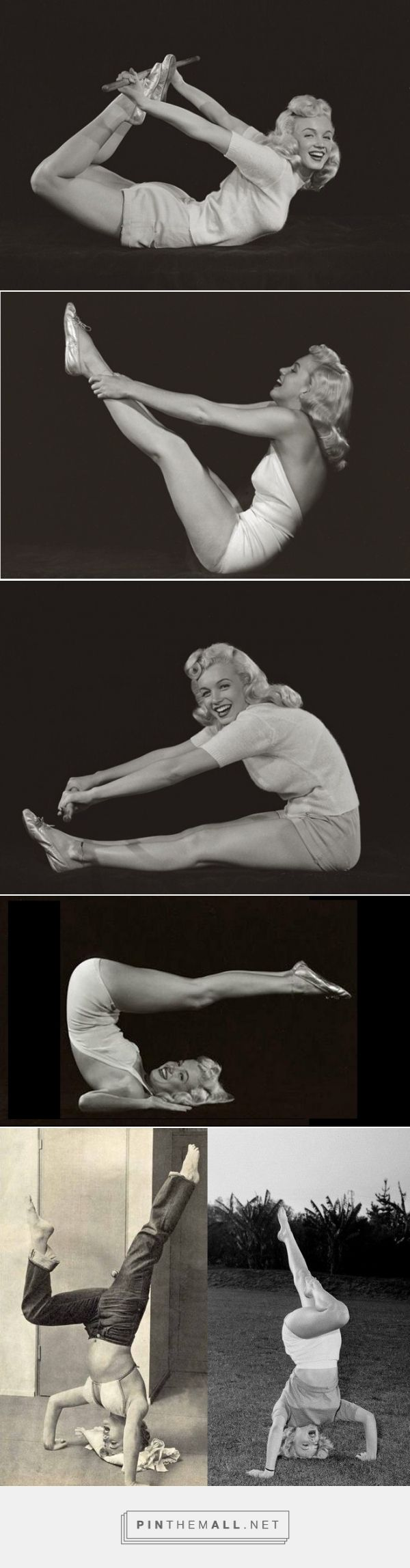 Marilyn Monroe: Yoga Superstar - created via http://pinthemall.net