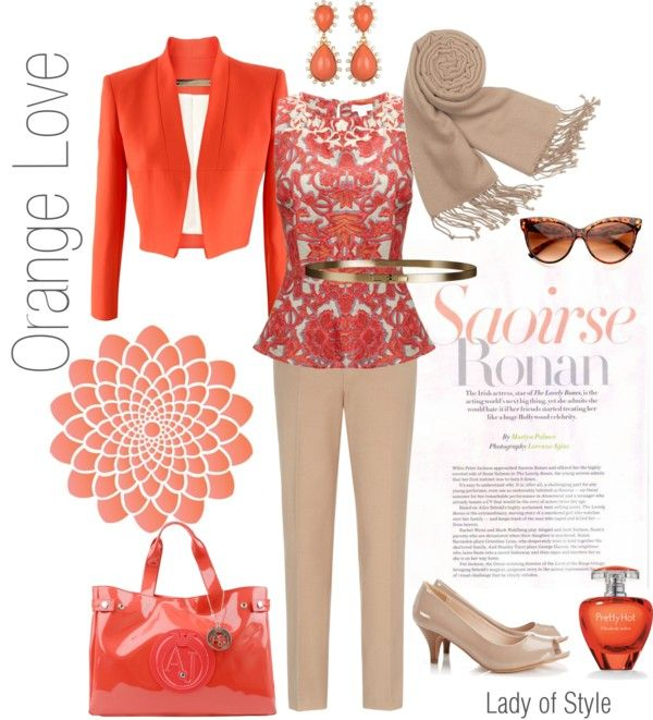 Orange Love | Lady of Style