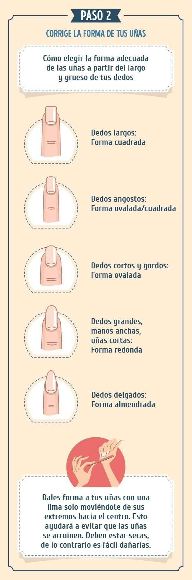 Lamejor instrucción para que tus uñas luzcan geniales