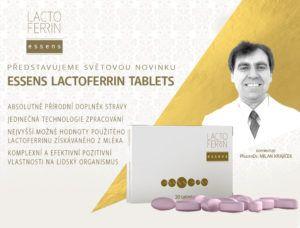 Lactoferrin je protein, který se přirozeně vyskytuje v lidském těle, je zastoupen v exokrinních sekretech a především v krevní plazmě, bílých krvinkách a v malém množství je obsažen ve VŠECH tělních tekutinách. Je součástí VROZENÉ imunity - http://essensclub.cz/essens-lactoferrin-novinka/