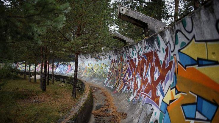 Piste olympique de bobsleigh (Sarajevo)
