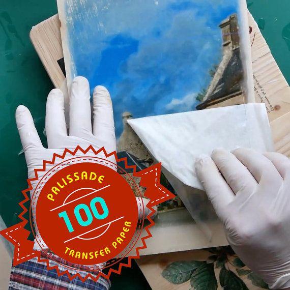 100 vellen van Image transfer papier voor het gebruik door Palissade