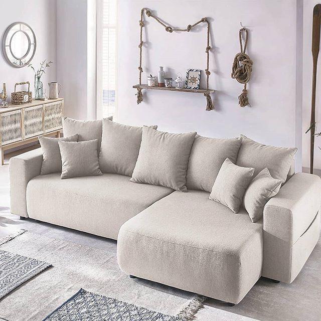 Canape Panoramique Fixe Velours Xxl Scandi Bobochic Canape Angle Mobilier De Salon Meuble Design