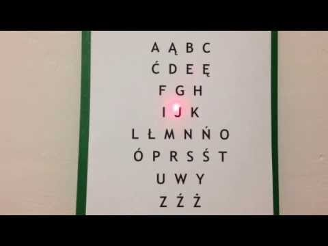 My Polish Alphabet Song - YouTube
