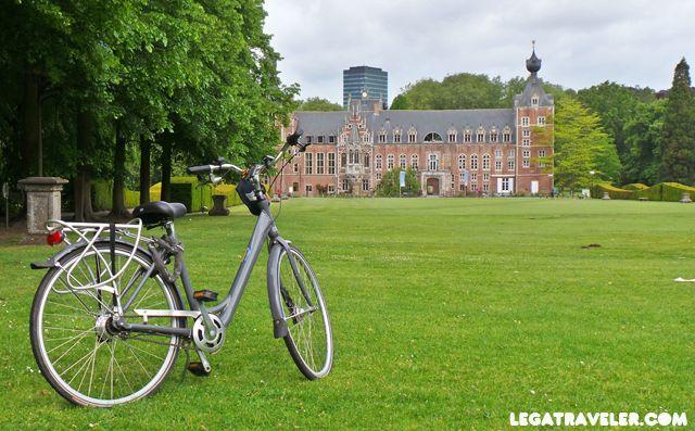 Ruta en bicicleta por Lovaina.