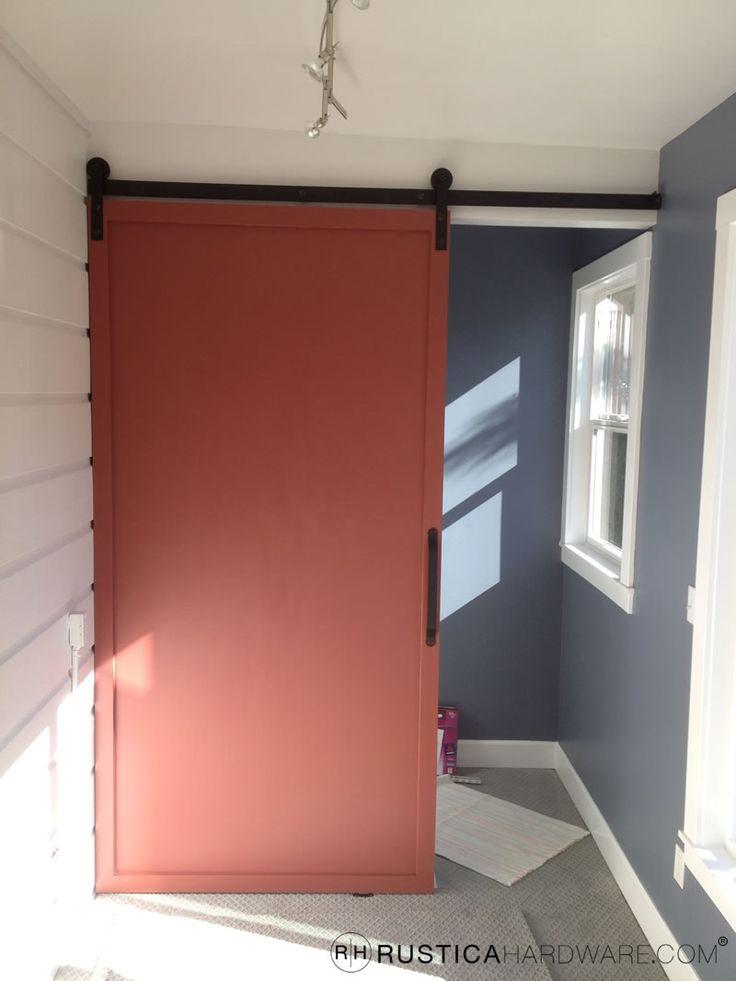 Red Sliding Barn Door 58 best barn door hardware images on pinterest | sliding doors