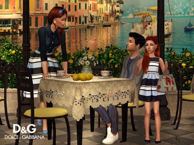 Sims2City: D&G.Summer 2016