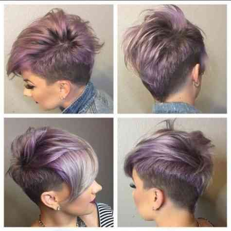 1514358036 Undercut Frisuren Frau Kurze Haare Dunnes Haar Hair And
