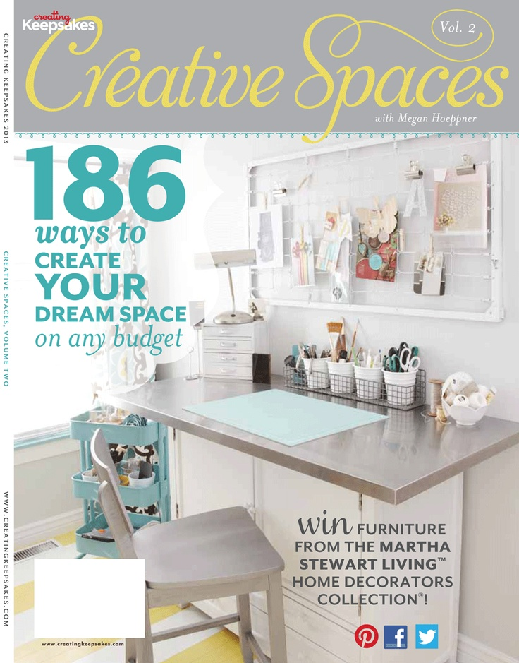 48 best creative spaces images on pinterest organization ideas craft rooms and creating keepsakes - Creative ways to store your magazines ...