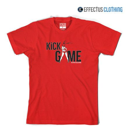 Kick Game Fire Red 5 Sneaker Tee Chicks in Kicks