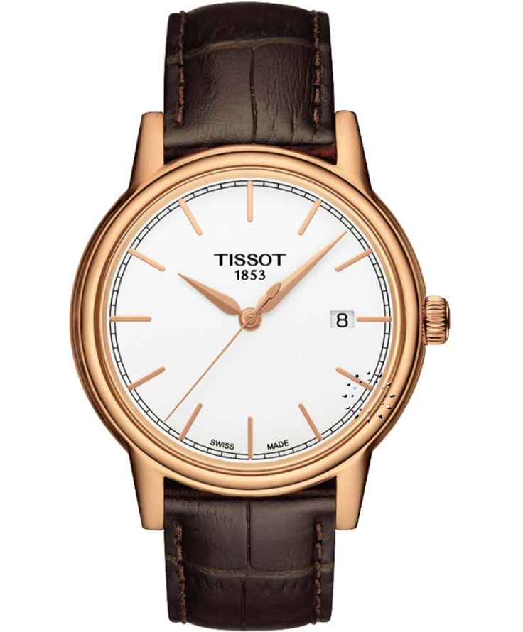 TISSOT Carson Brown Leather Strap Η τιμή μας: 252€ http://www.oroloi.gr/product_info.php?products_id=34691