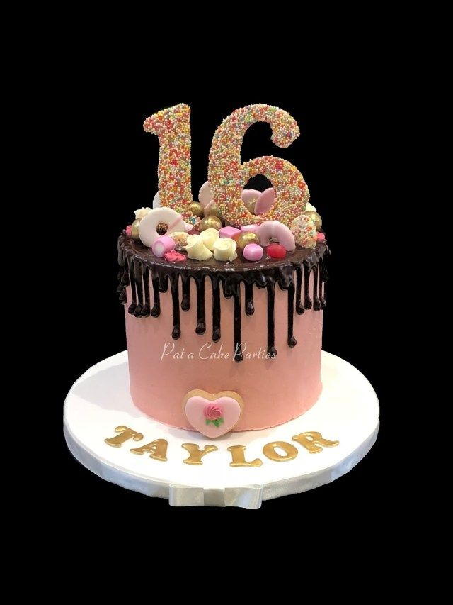 23 Elegant Picture Of 16 Birthday Cake With Images 16