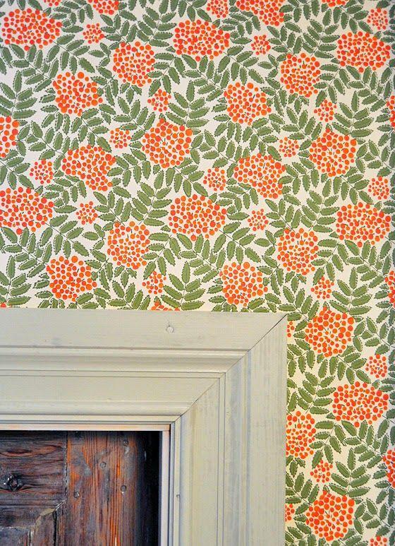 L U N D A G Å R D | inredning, familjeliv, byggnadsvård, lantliv, vintage, färg & form: Orange och brunt