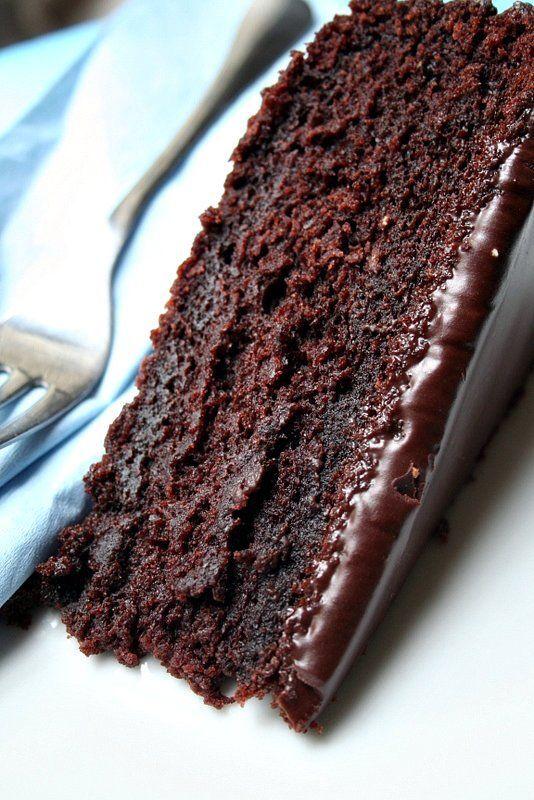 My take on James Martin's Chocolate Cola Cake