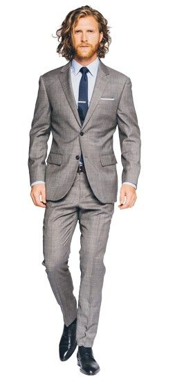 The perfect Men's Custom Suit in Premium Grey Sharkskin suit fabric, perfect for your wardrobe. Shop a wide selection of Men's Custom Suits, grey suits, gray suits, sharkskin suits & more at INDOCHINO. FREE Shipping on orders over $150.